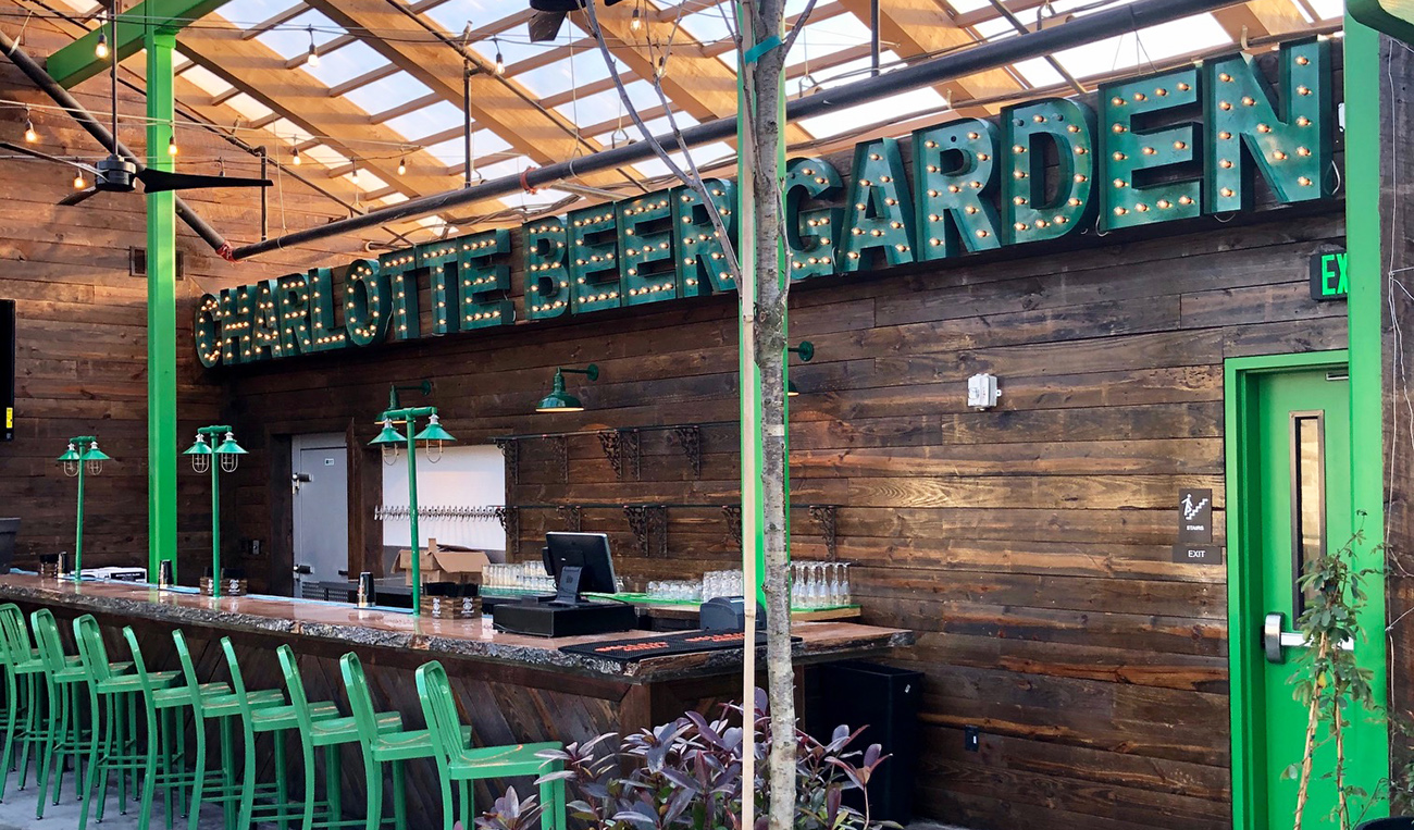 Everything you need to know about Charlotte Beer Garden