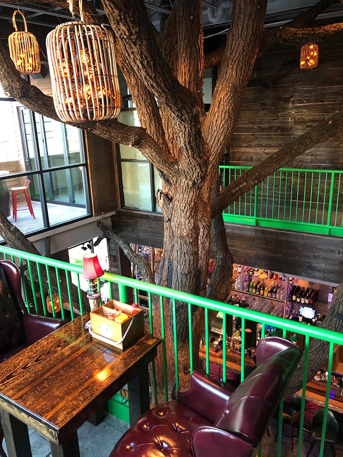 tables reservation at charlotte beer garden