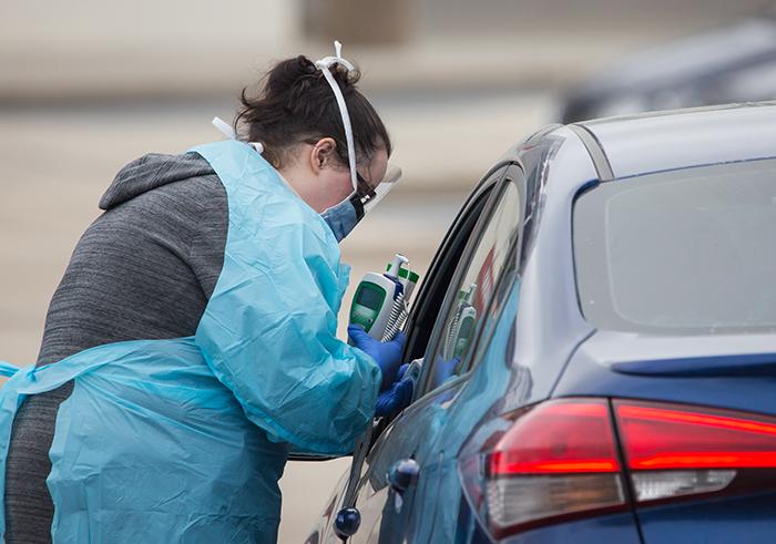 charlotte motor speedway atrium health testing coronavirus