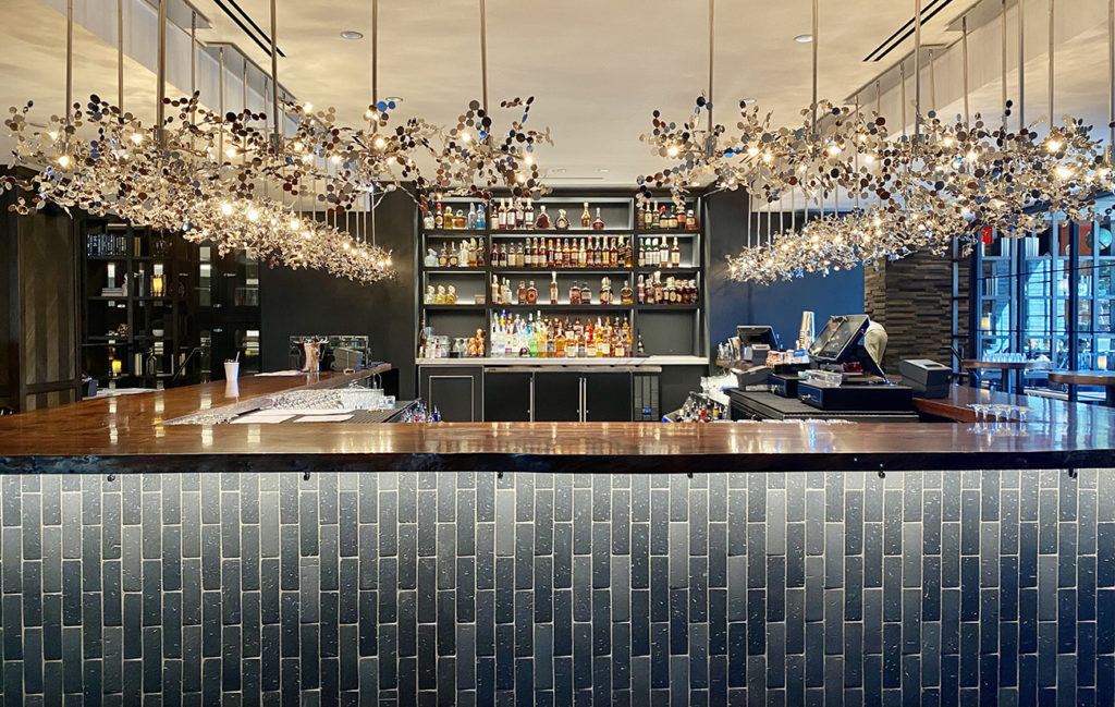 See inside Steak 48's $8M build-out. The steakhouse opens December 18 in SouthPark