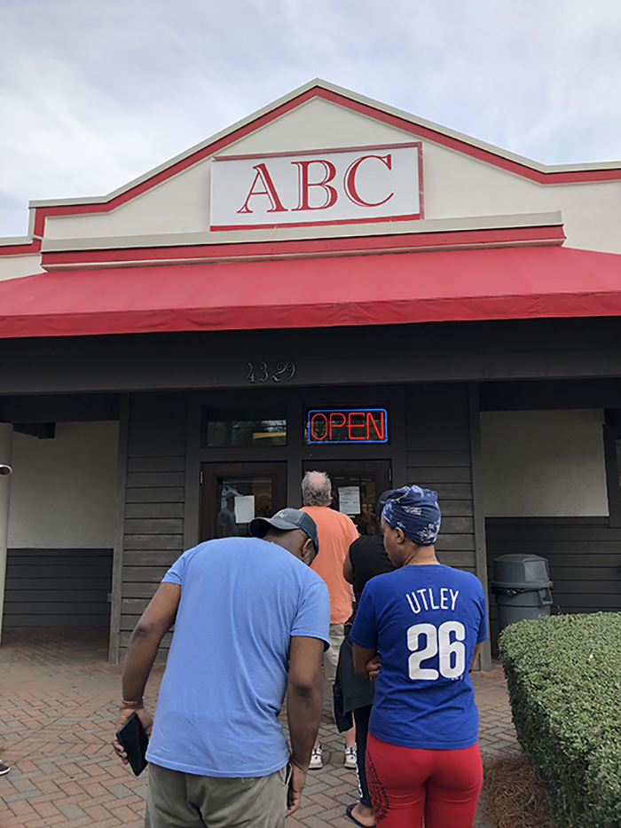 ABC store on Park Road