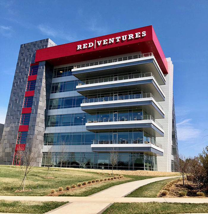 building on red ventures campus