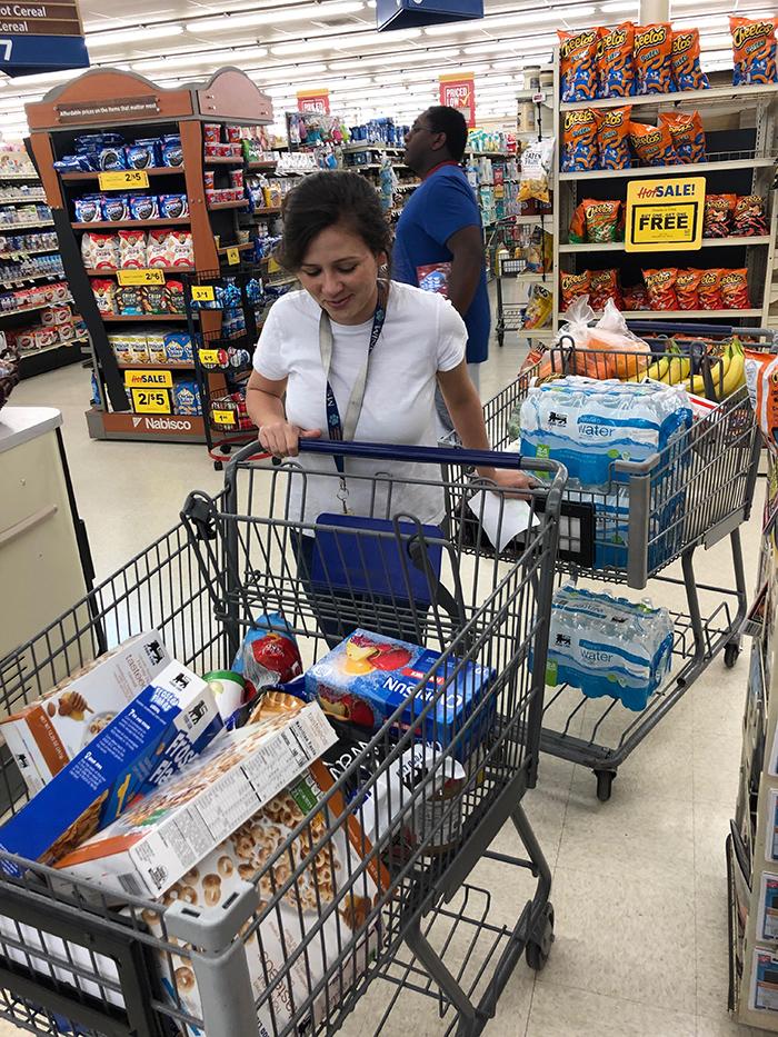 grocery shopping coronavirus