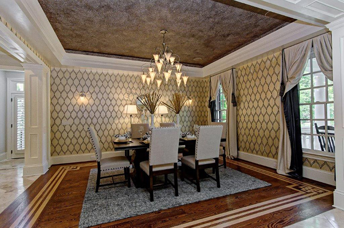 ron rivera listing dining room