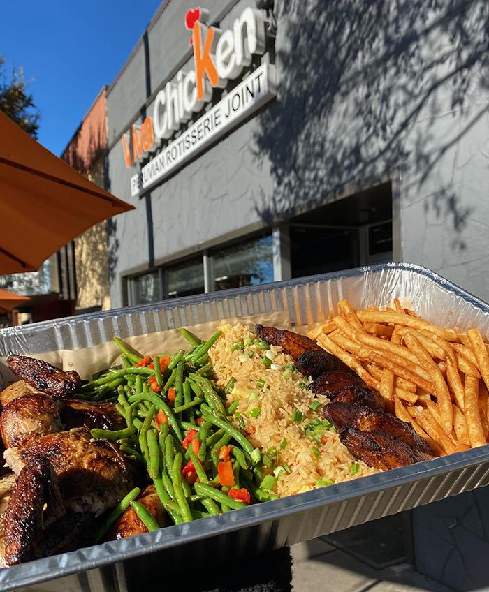 viva chicken meal deal
