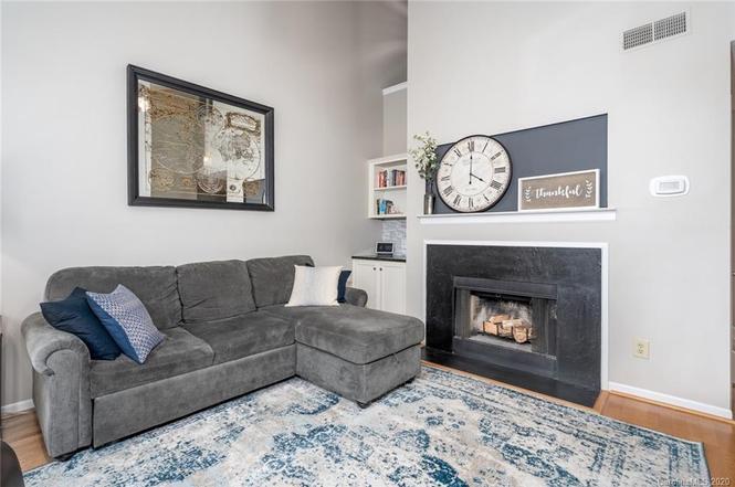 501 Olmsted Park Pl Unit K fireplace