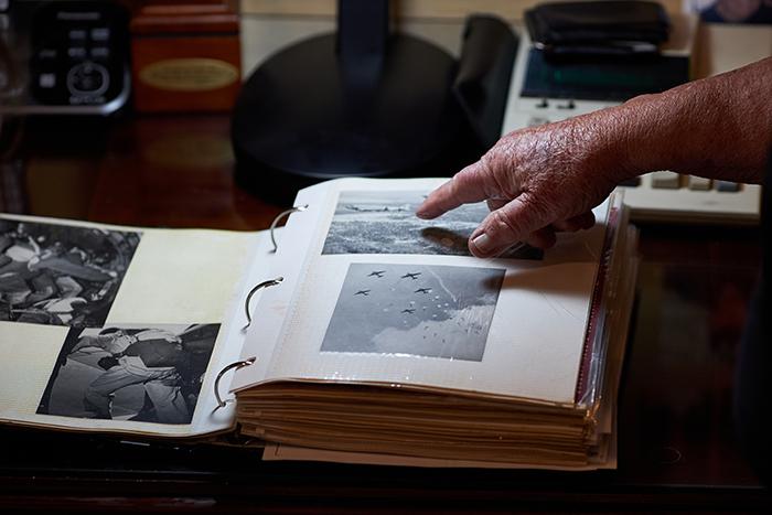 "WWII veteran Eugene ""Doc"" Deibler's war mementos"