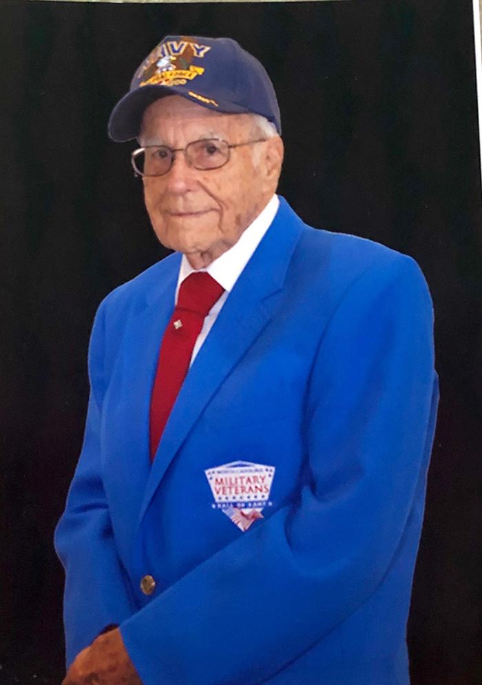 WWII veteran Art Rogers
