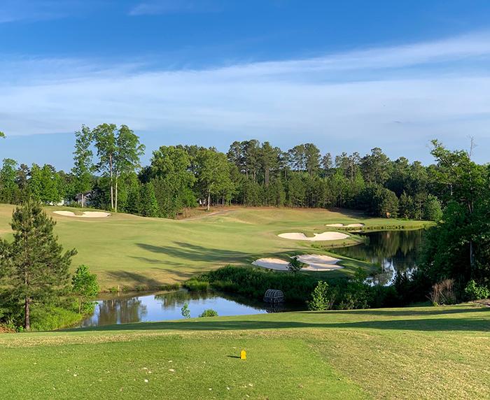 carolina lakes golf course hole number 15