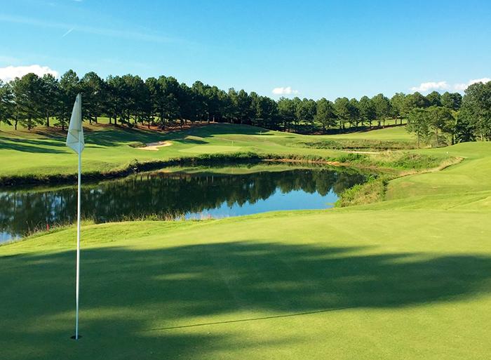 eagle chase golf course hole 12