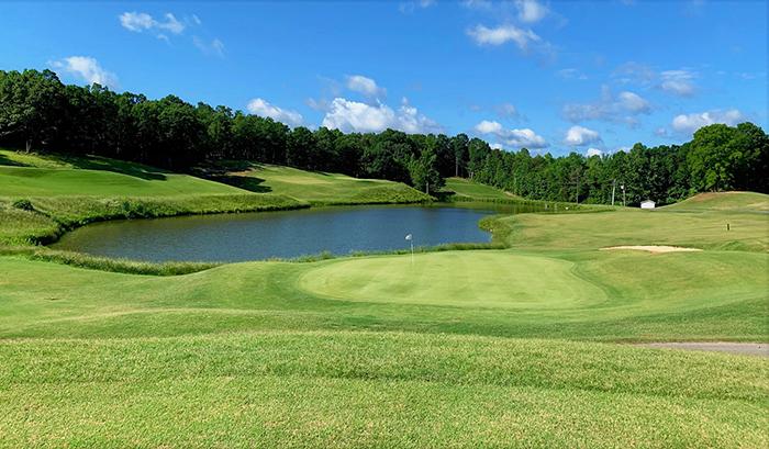 eagle chase golf course hole 13