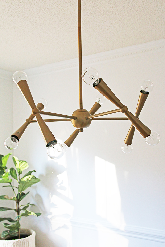 hullosam home tour light fixture