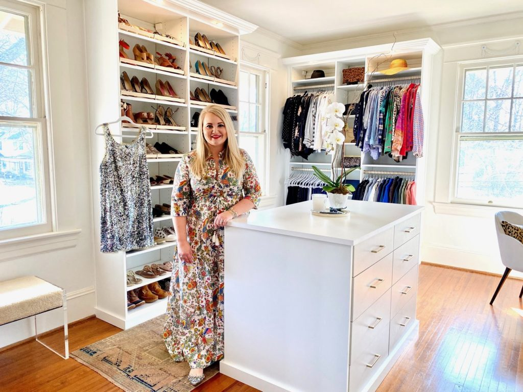 Closet Tour: Step inside interior designer Charlotte Staton's boutique-style custom closet