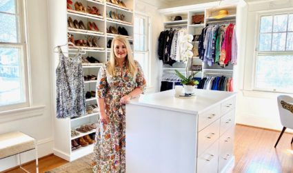 Closet Tour: Step inside interior designer Charlotte Staton's boutique-style custom closet