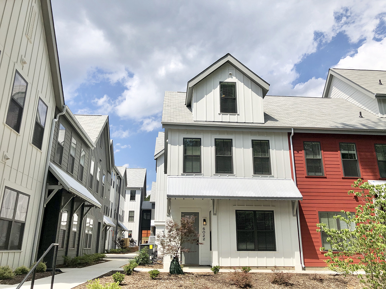 Charlotte's first 'pocket community' now leasing townhomes near Plaza Midwood