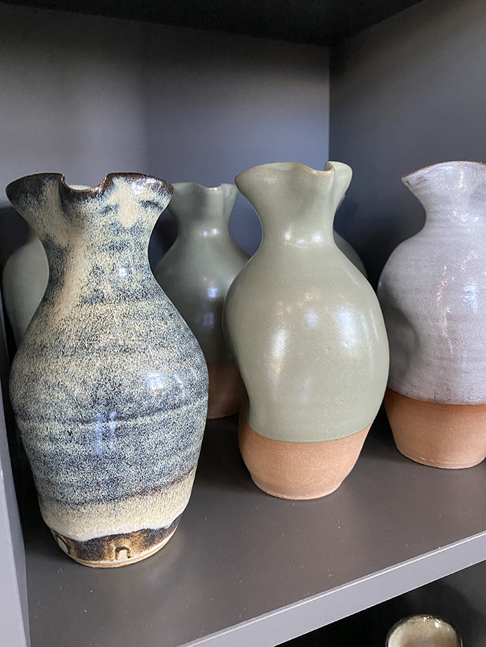 Counter- pottery