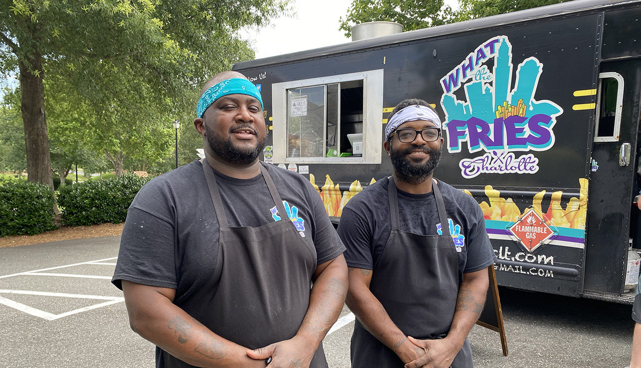 What The Fries food truck serves what may be the city's best loaded fries