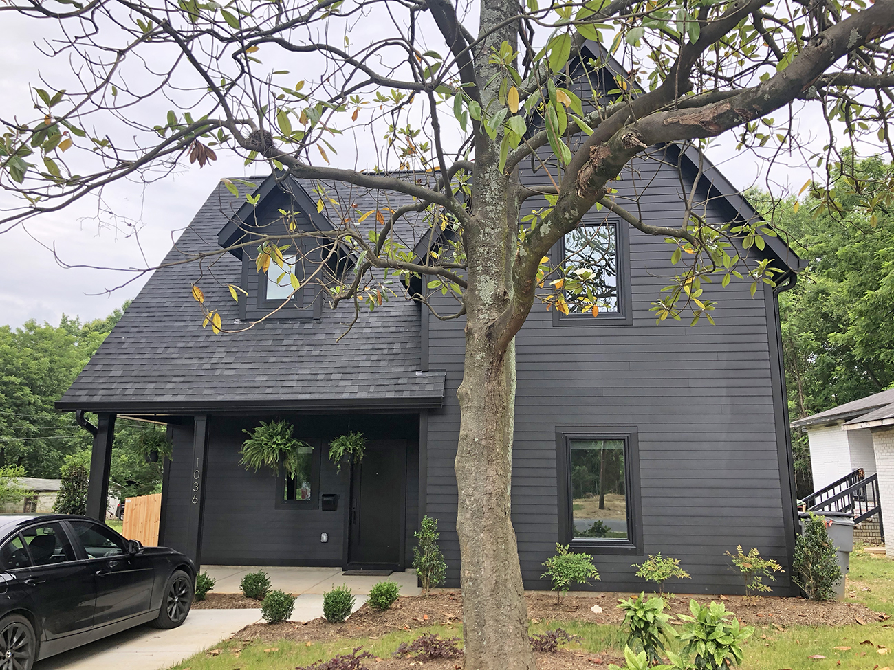See inside: Black Wednesday founder Corri Smith's house is all black from the exterior to the closet
