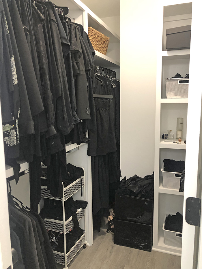 Corri Smith Home Tour closet
