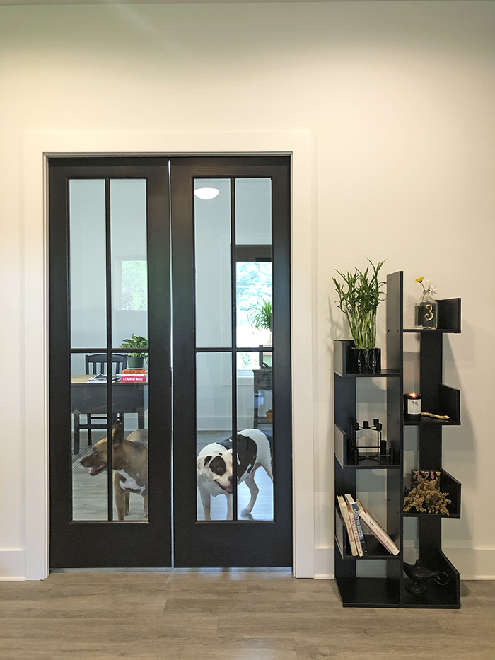 Corri Smith Home Tour office doors