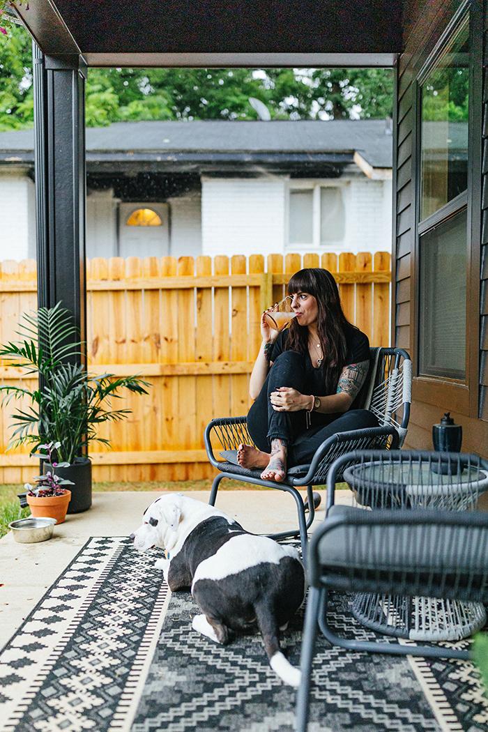 Corri Smith Home Tour porch