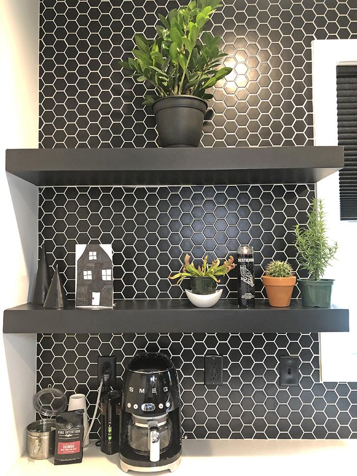 Corri Smith Home Tour shelves