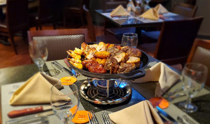 Traditional Brazilian Dinner
