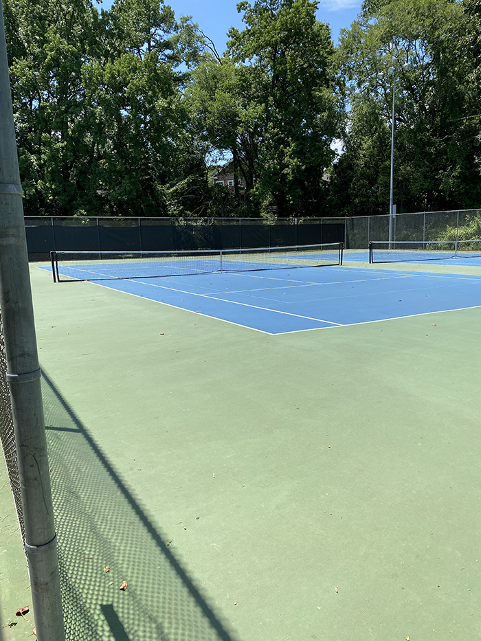 freedom park tennis courts