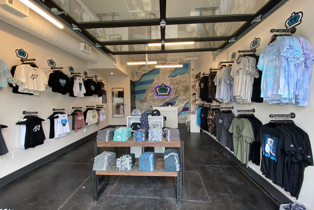 Charlotte-centric clothing brand Glory Days Apparel opening Saturday in South End