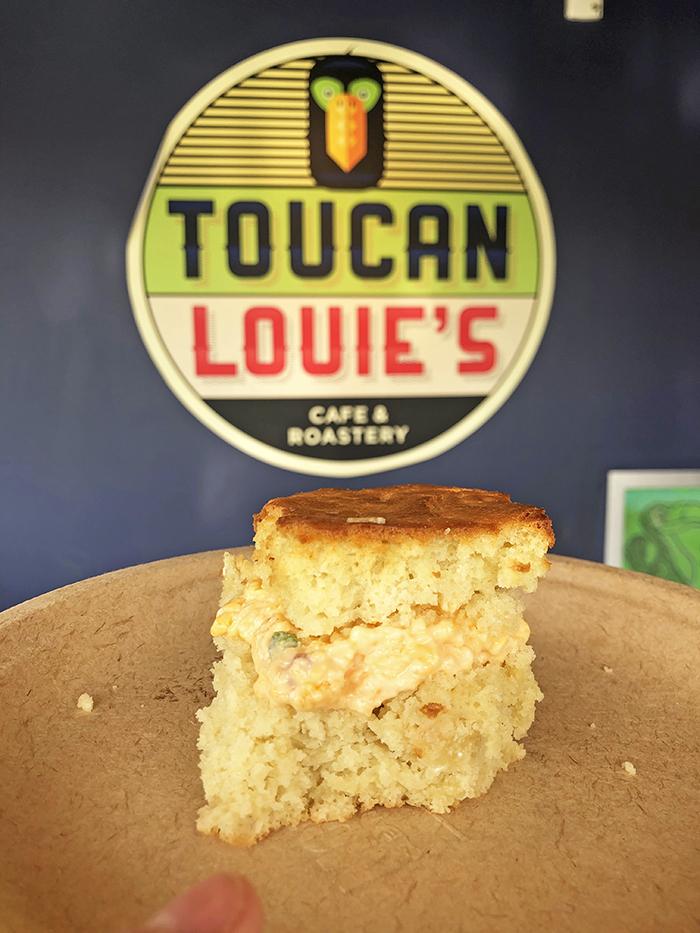 toucan louie's biscuit