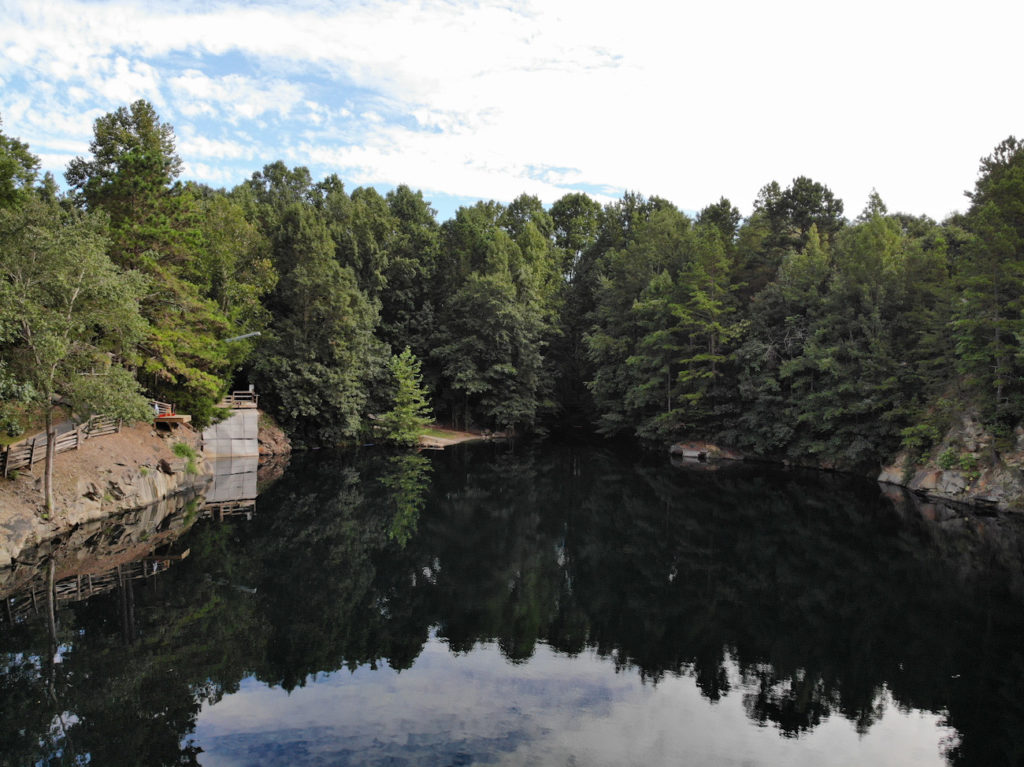 Summer's almost over. Go swimming at the Quarry at Carrigan Farms while you still can