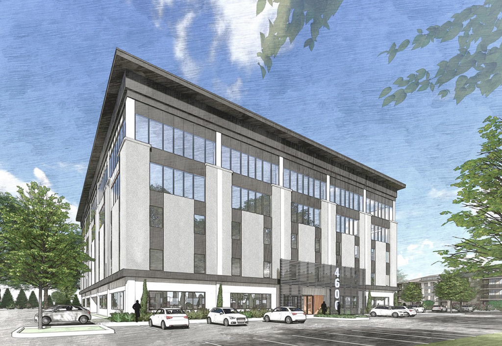 A Park Road office building is about to get a facelift