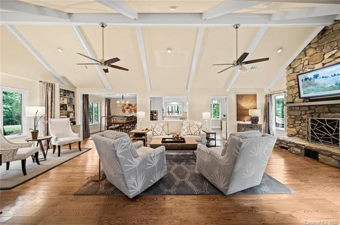 9411 Wood Valley Ln living room