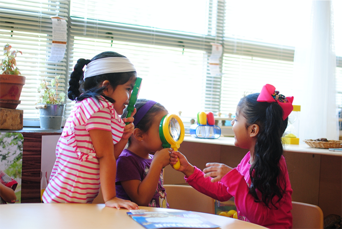 Students at Charlotte Bilingual School in east Charlotte