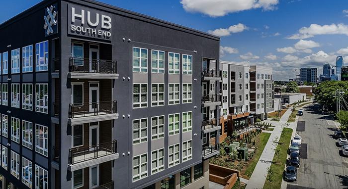 Hub South End exterior