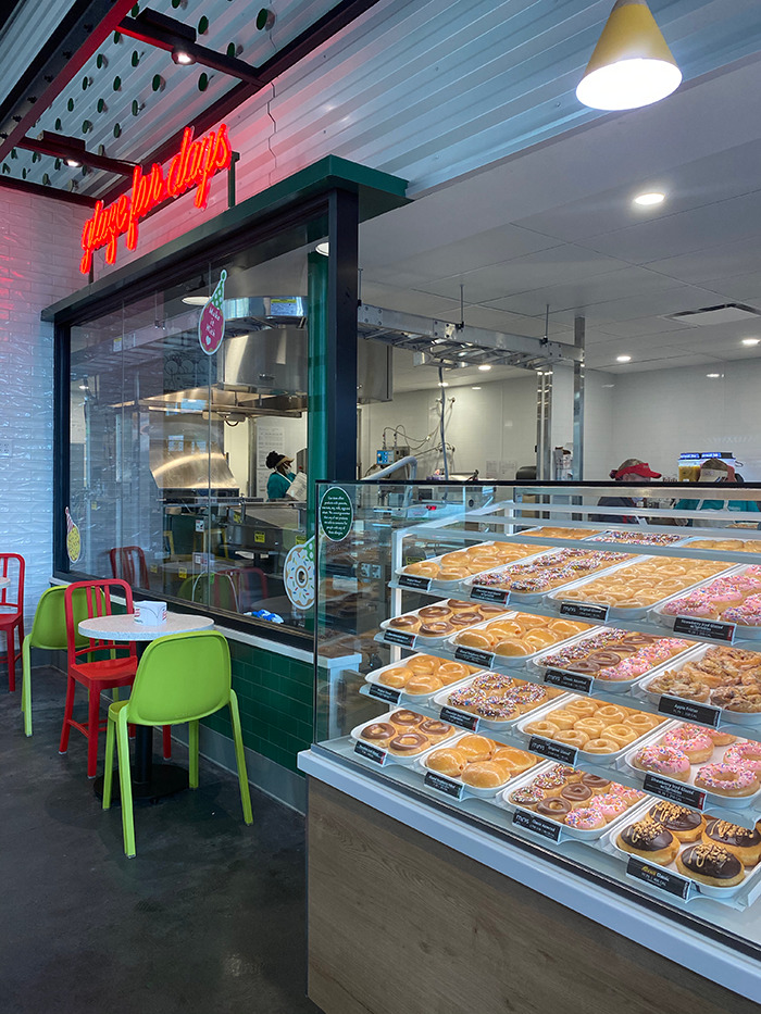 Krispy Kream South End Interior