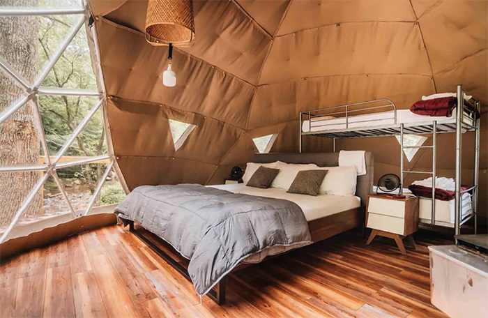 Treehouse Dome beds