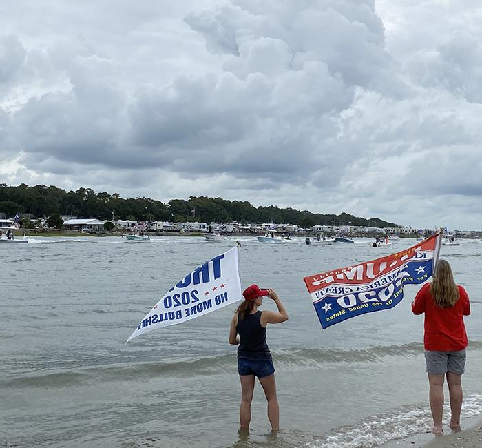 Trump Flotilla Brunswick County 2020