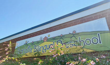 Good news update: After our story ran, Charlotte Bilingual Preschool found a home at Thompson Child & Family Focus. School starts today
