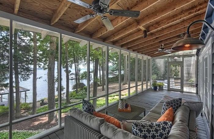 Cozy cottage porch