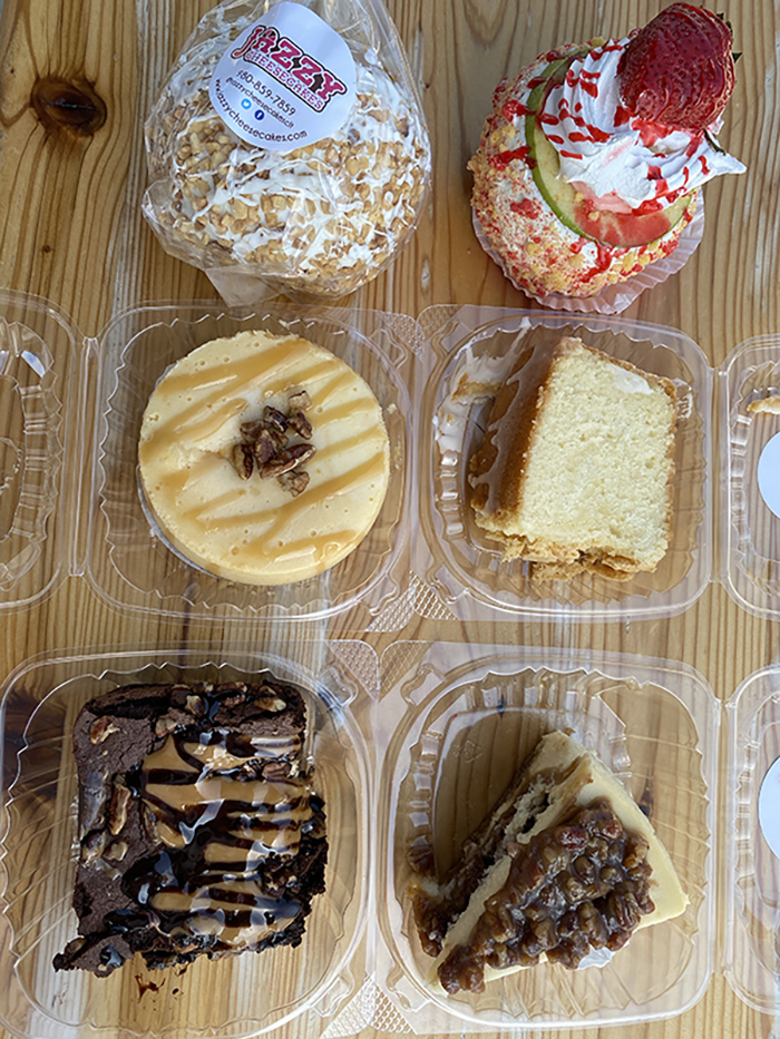 Jazzy Cheesecake desserts