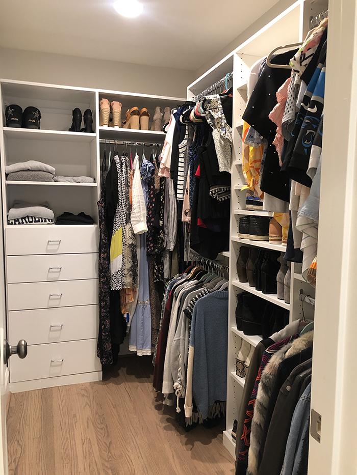 Katie Roche Home Tour closet