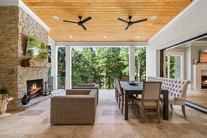 Mike Tolbert's house asks $2.4M outdoor living area