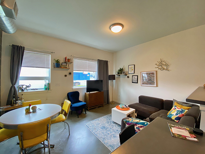 edgeline flats living room
