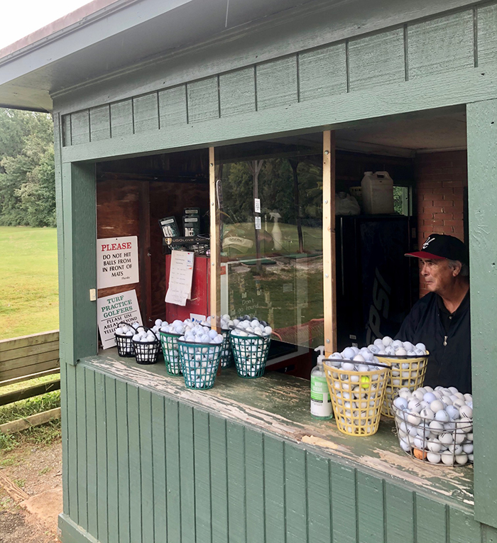 prices and golf balls at westwood golf driving range charlotte