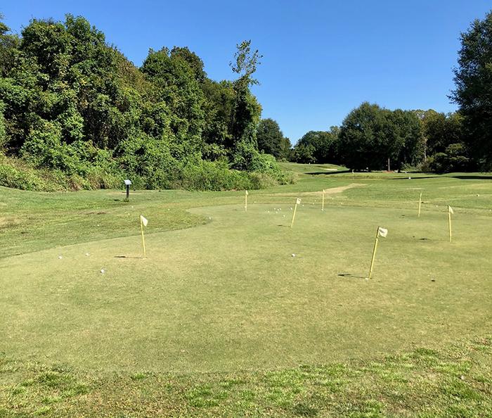 putting green golf village driving range pineville charlotte