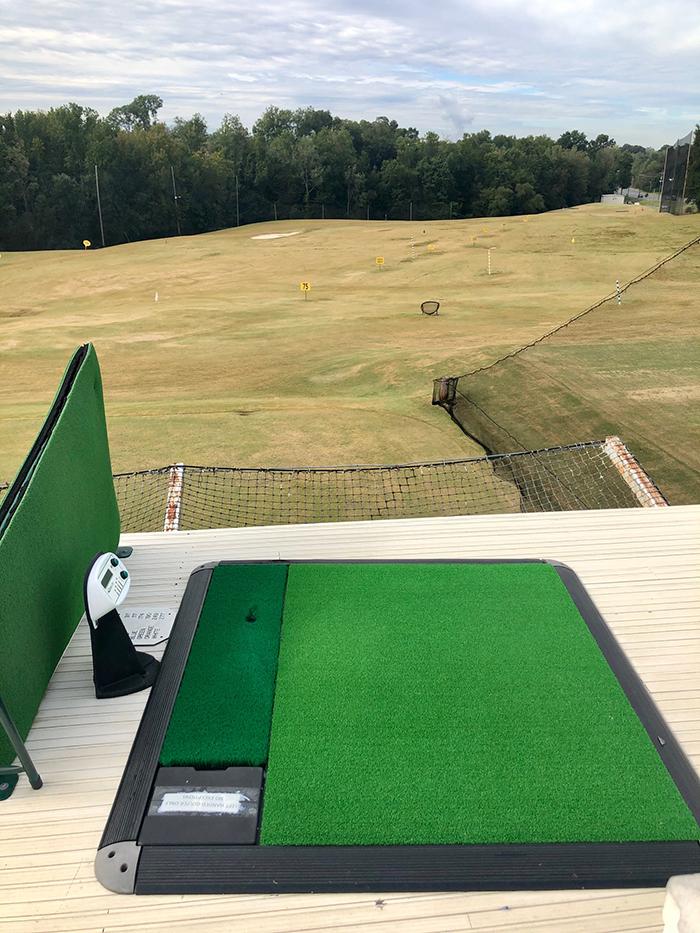 tee at leatherman golf driving range charlotte