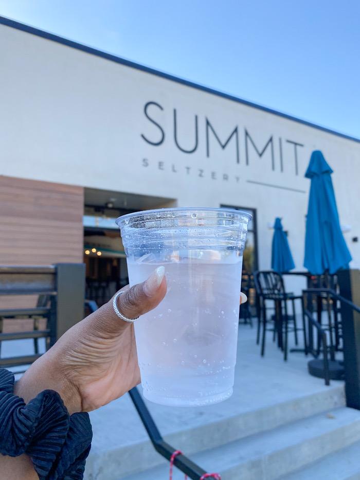 Summit Seltzer, non-alcoholic seltzer