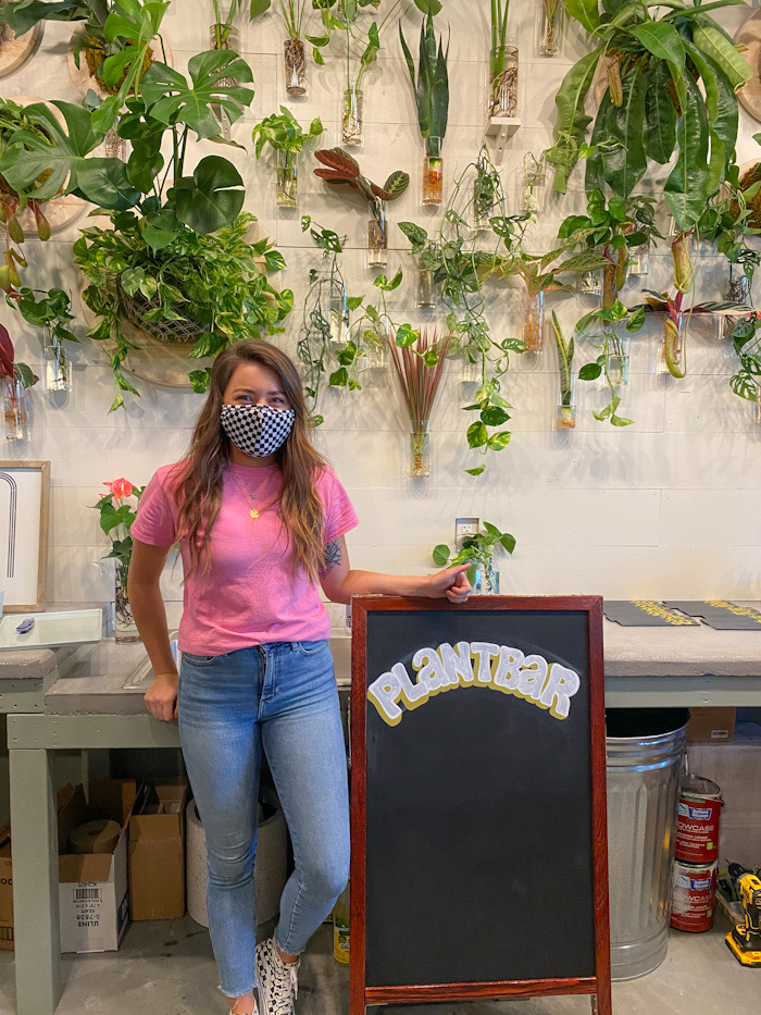 PlantBar Co-owner, Bailey Ryan