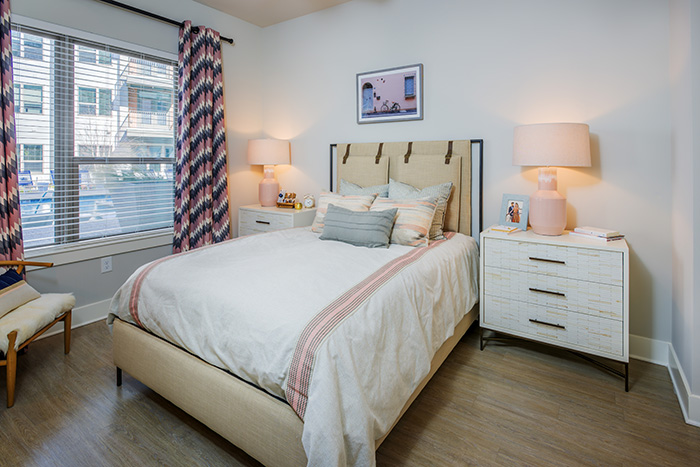 Cortland NoDa Bedroom